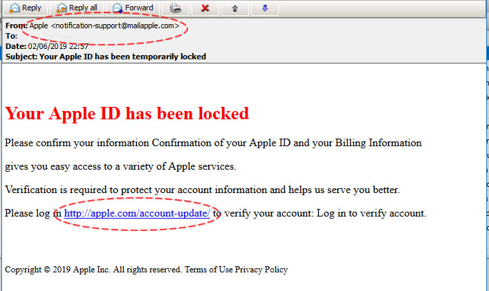 02 Your Apple ID has been temporarily locked